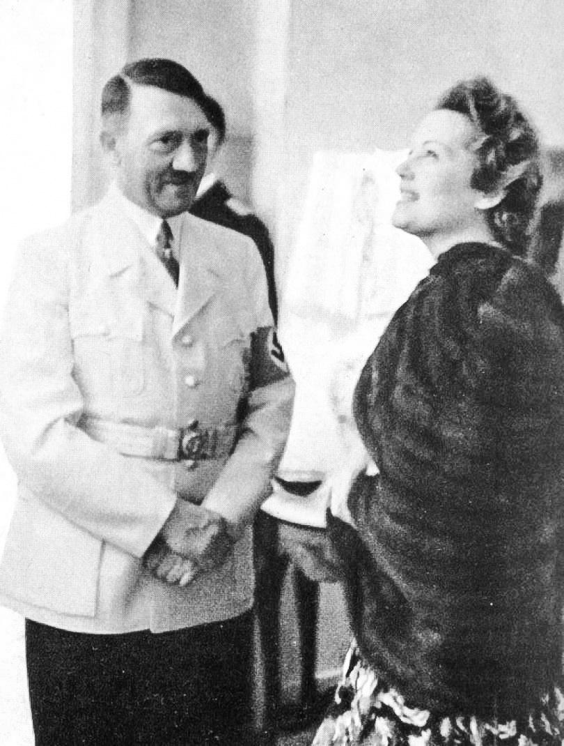 Ольга Чехова познакомилась сГитлером вянваре 1933года