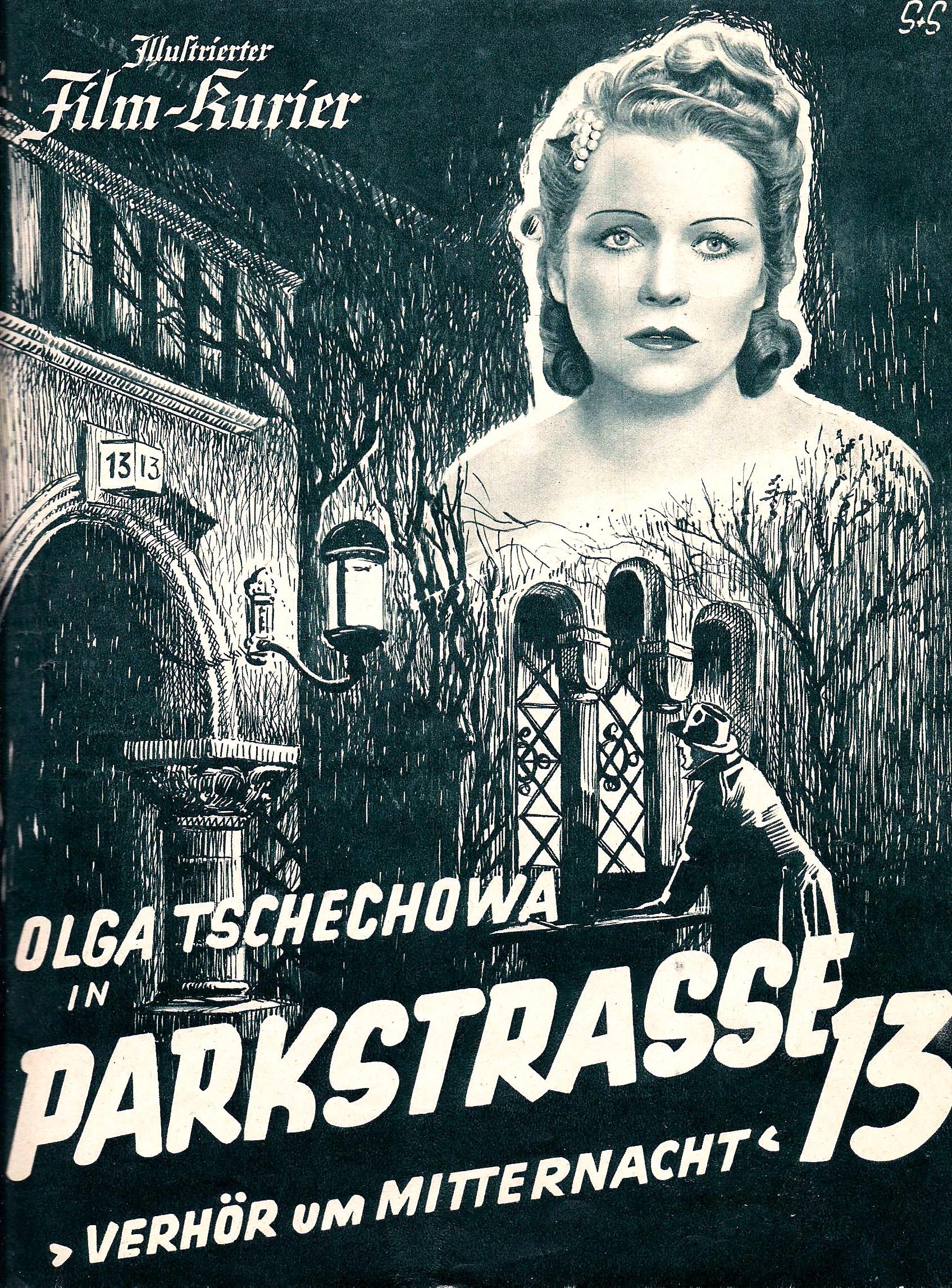 Ольга Чехова вфильме «Паркштрассе, 13»