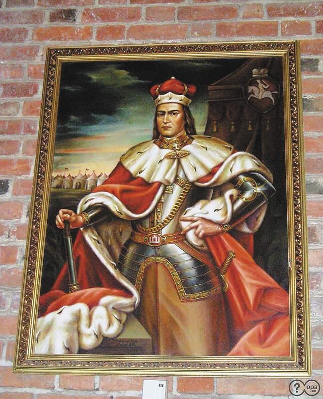 Витовт, Великий князь Литовский. Сын Кейстута, племянник Ольгерда идвоюродный брат Ягайло. Последний правитель, который отстаивал политическую независимость ВКЛ отПольши