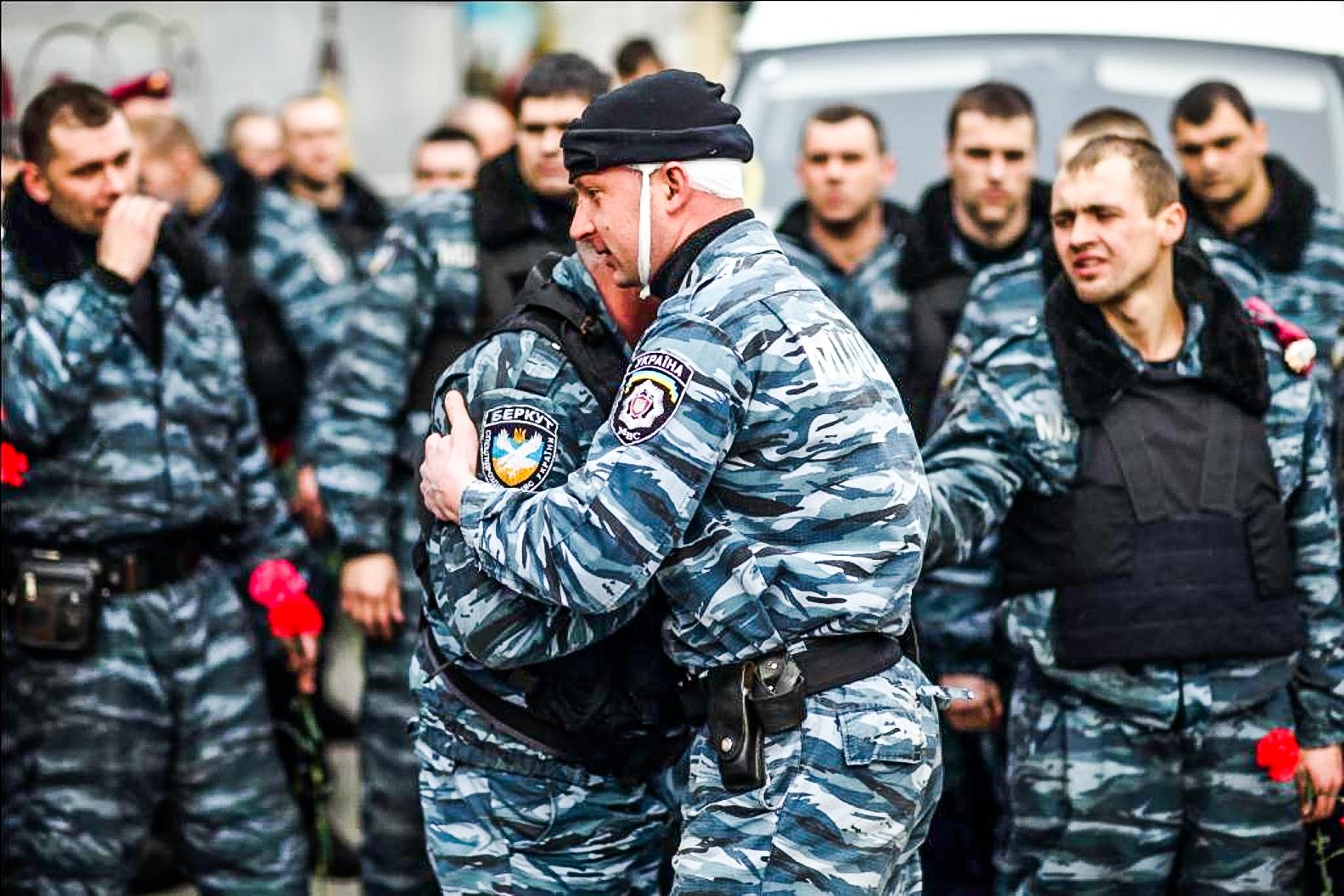 ВКиеве бойцы крымского «Беркута» сполна ощутили насебе, чтотакое «европейские ценности»