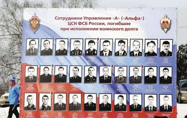 Офицеры кгб-фсб погибшие при исполнении