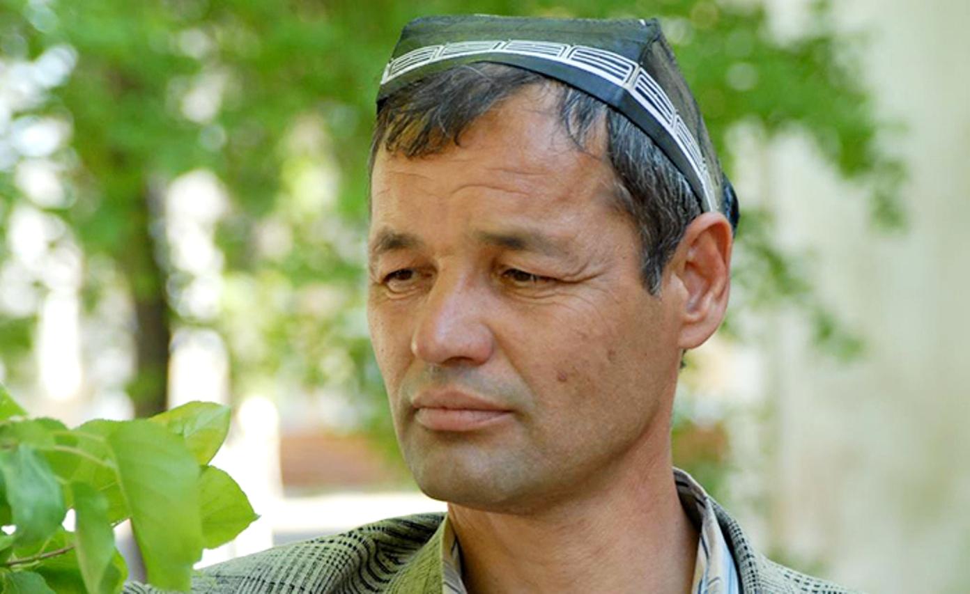 Единственный, ктовыжил изсоветских узников Бадабера— узбек Носиржон Рустамов. Фергана, 2006год