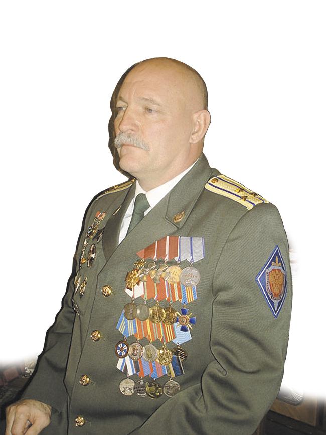 Кавалер четырёх орденов полковник запаса Виталий Демидкин