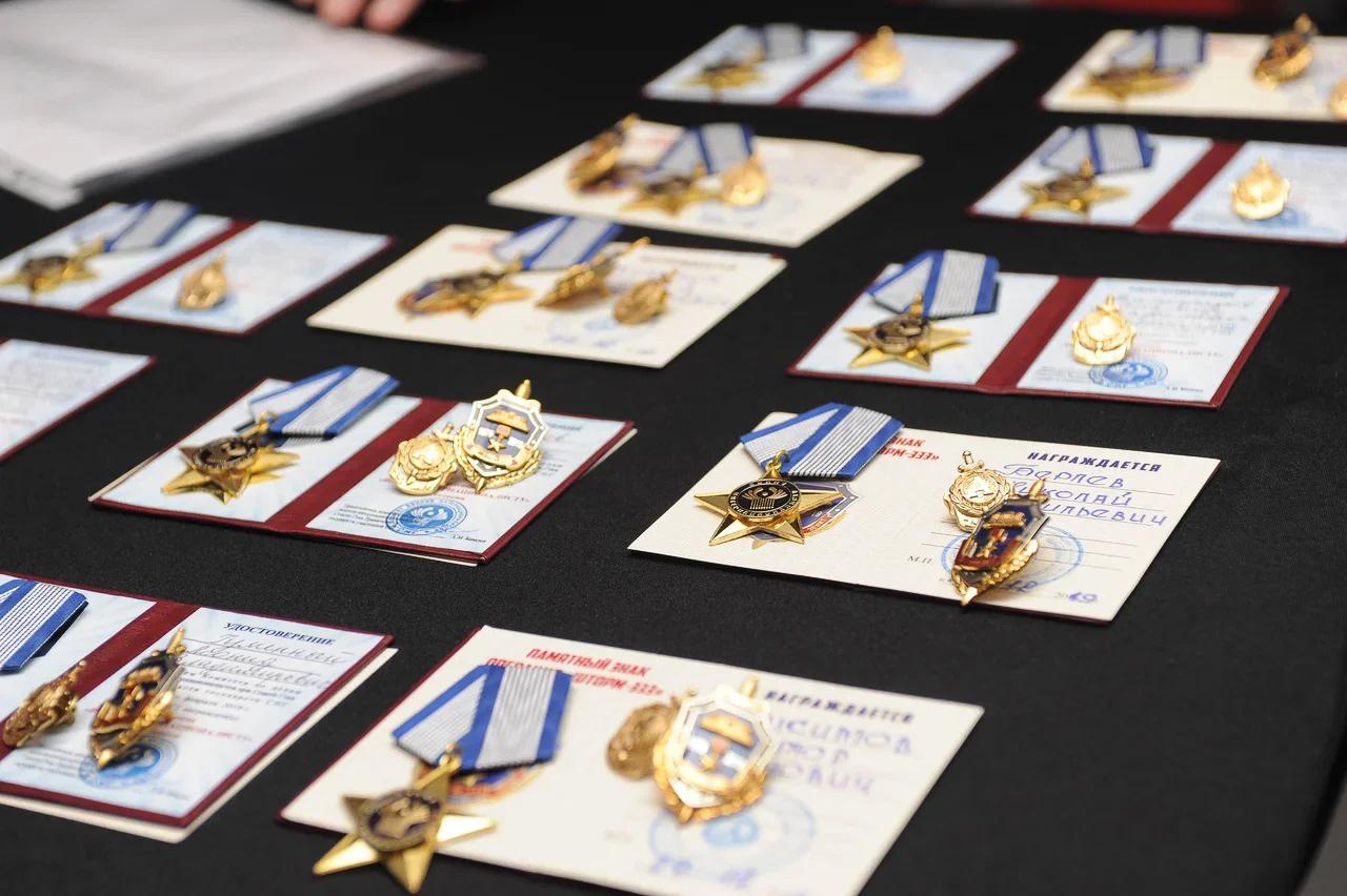 «ВДень образования подразделения мы вручили награды иотСНГ, изнаки участникам штурма Тадж-Бека»