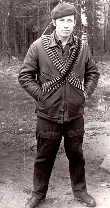 Неповторимый колорит эпохи! Офицер Группы «А» Валерий Емышев, 1970-е годы