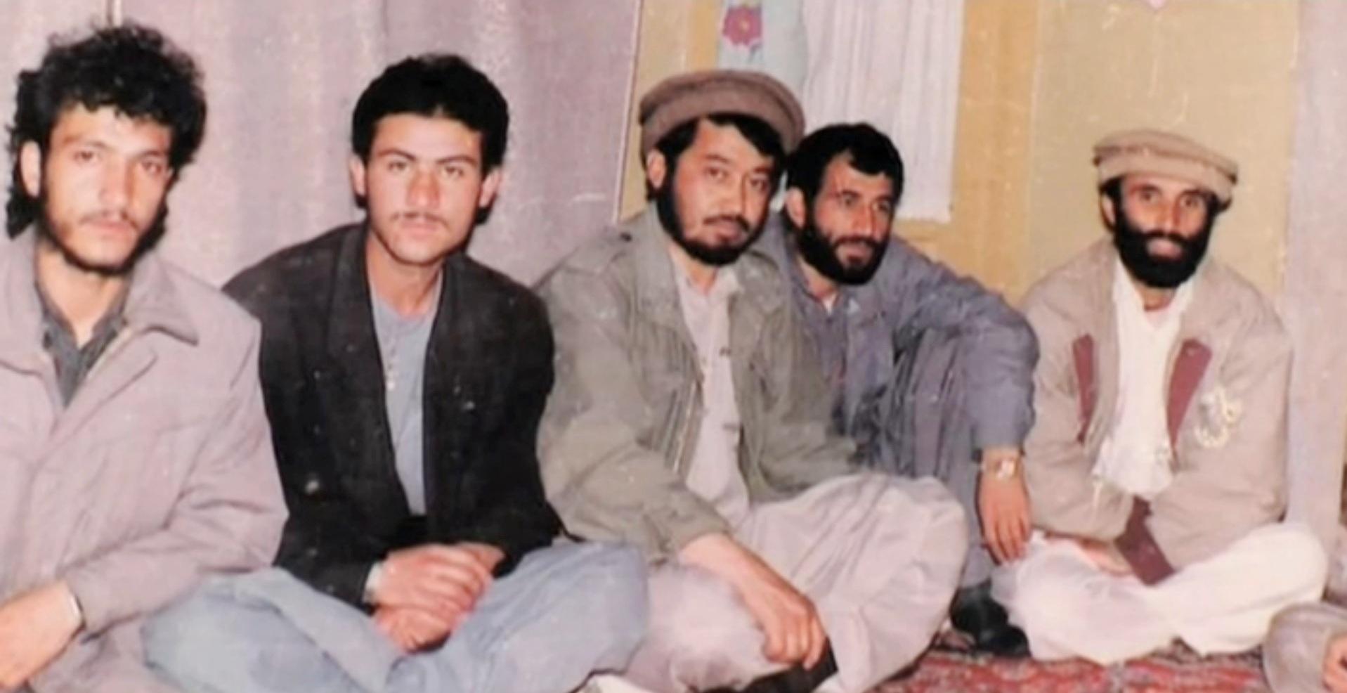 Свидетель восстания вБадабере Гулям Расул Карлук (вцентре), в1985году— командир учебной роты лагеря