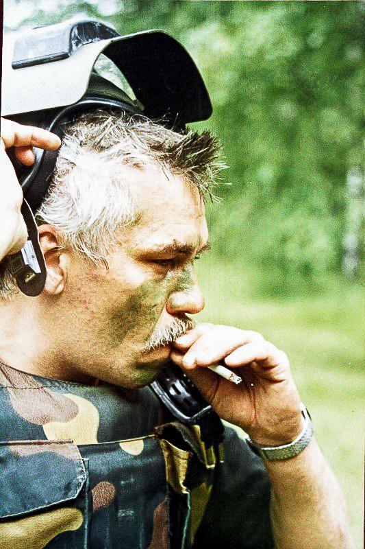 Руководитель группы снайперов «Альфы» Василий Денисов (1956-2009)