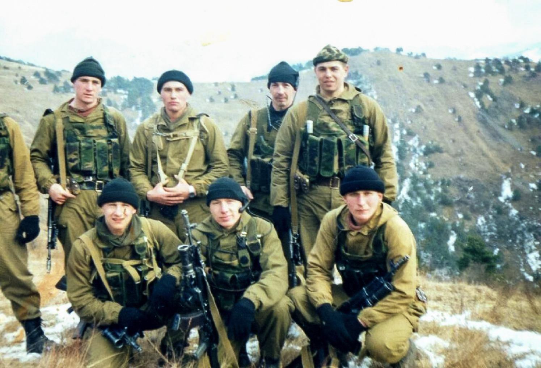 Вовремя службы вНазрановском пограничном отряде