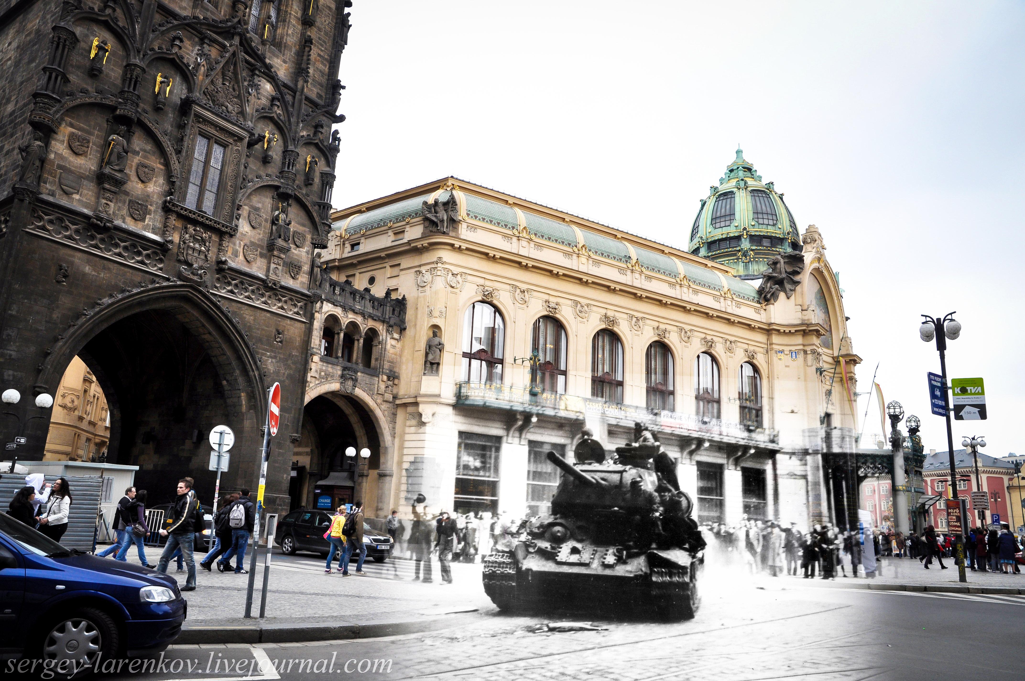 Берлин современный и1945года. Фотореконструкция. Проект «Связь времен»