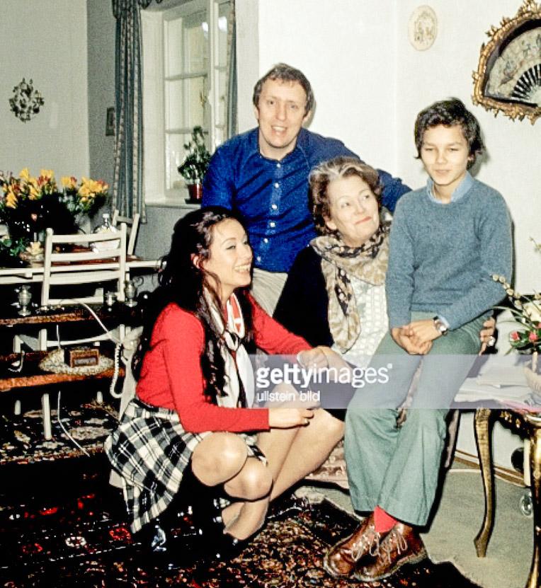 Вкругу родных. 1970‑е годы