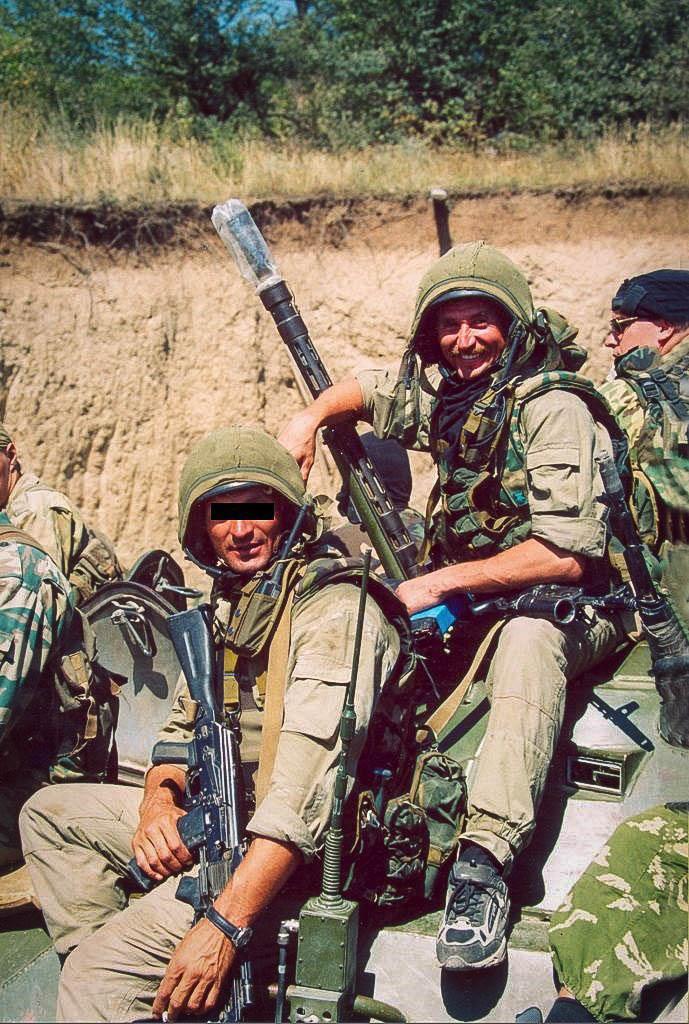 Герой России майор Юрий Данилин («Альфа»)