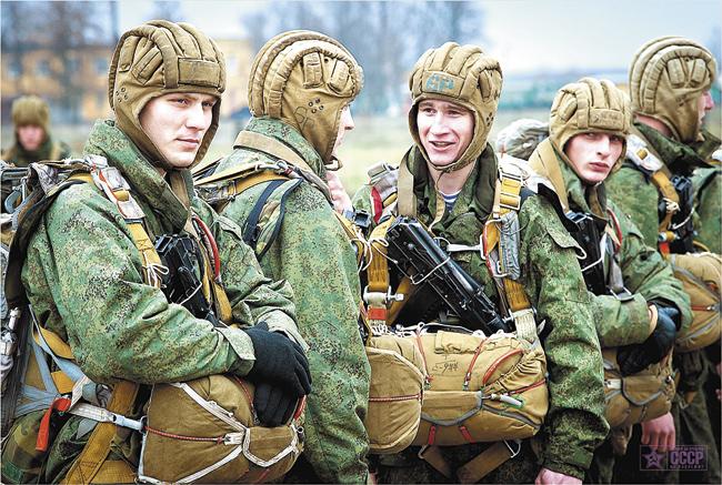 Нынешние русичи — бойцы российского Спецназа