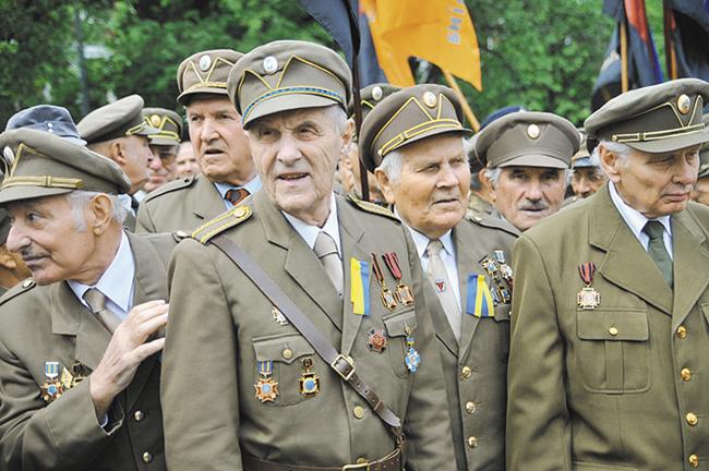 Ветеранов УПА в постсоветской Украине приравняли к участникам Великой Отечественной Войны