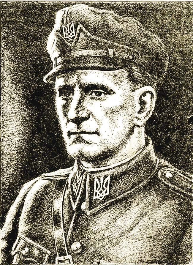 Кровавый палач Роман Шухевич  — главнокомандующий УПА