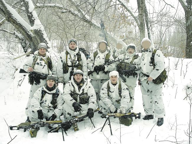 Спецназ зимой картинки