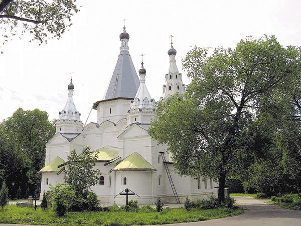 Церковь Троицы вТроицком-Голенищеве, вкоторой с1924‑го по1932год служил протоиерей Александр Орлов