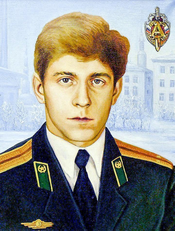 Убитый вВильнюсе офицер Группы «А» Виктор Шатских