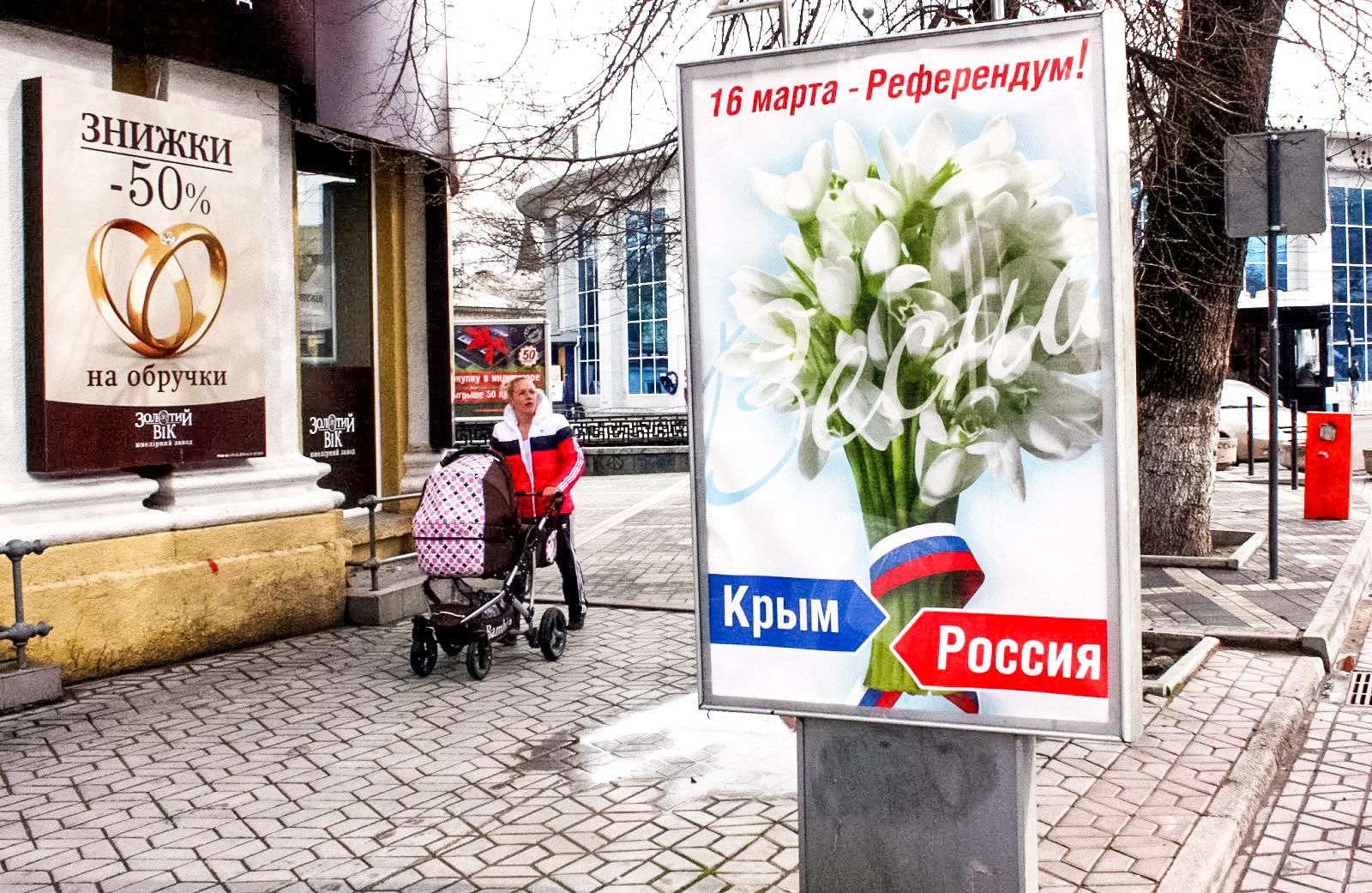 «Крымская весна» иреферендум открыли новую страницу вистории России
