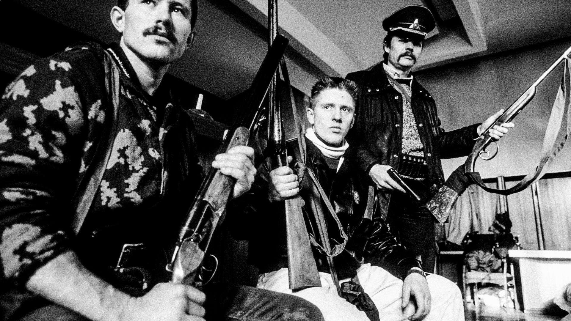 Группы «мирных» литовских боевиков. Январь 1991года