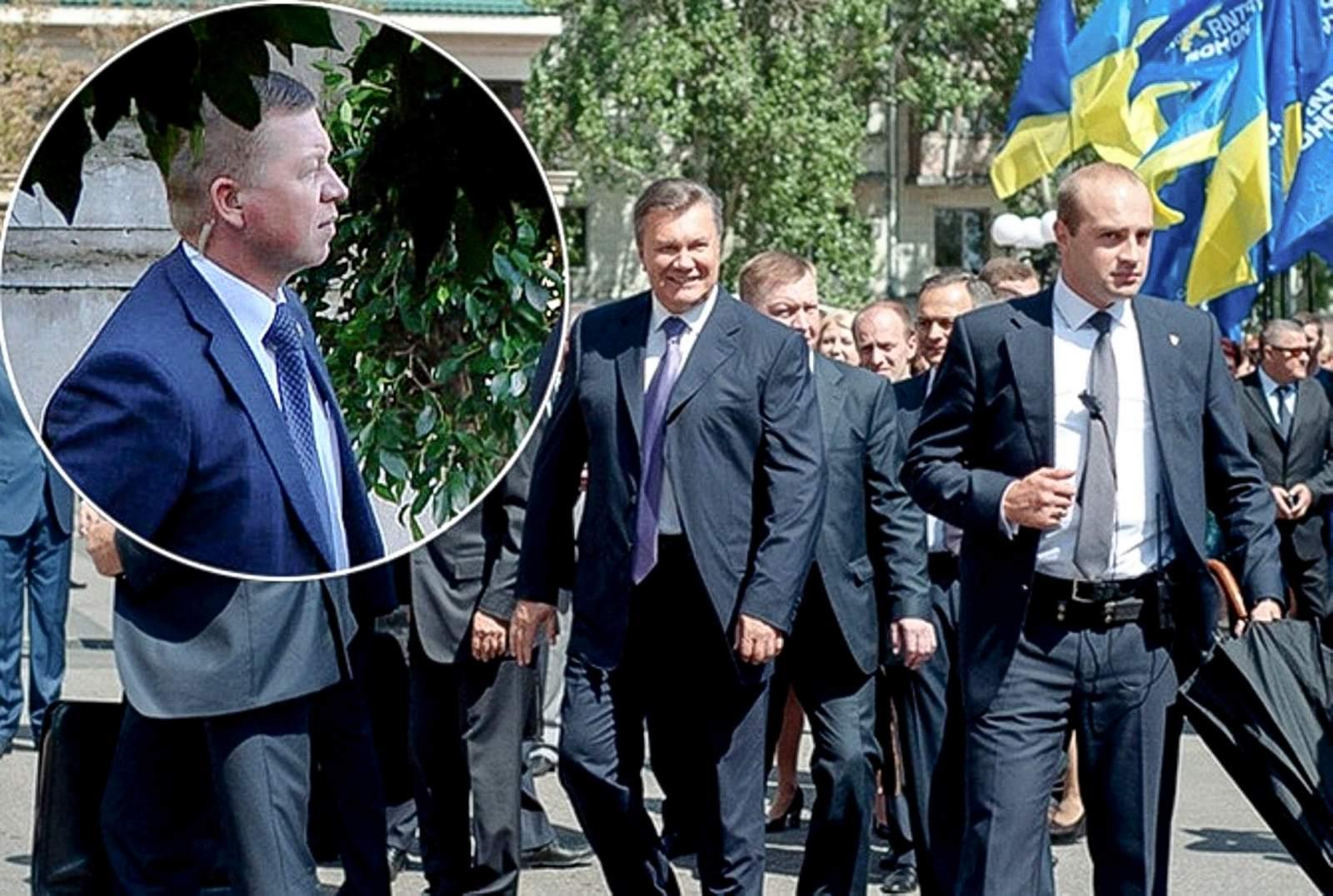 Охранник Януковича собрался рассказать о роли Боширова в бегстве президента Украины