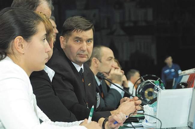 Президент Московской федерации джиу-джитсу Сергей Крутовских