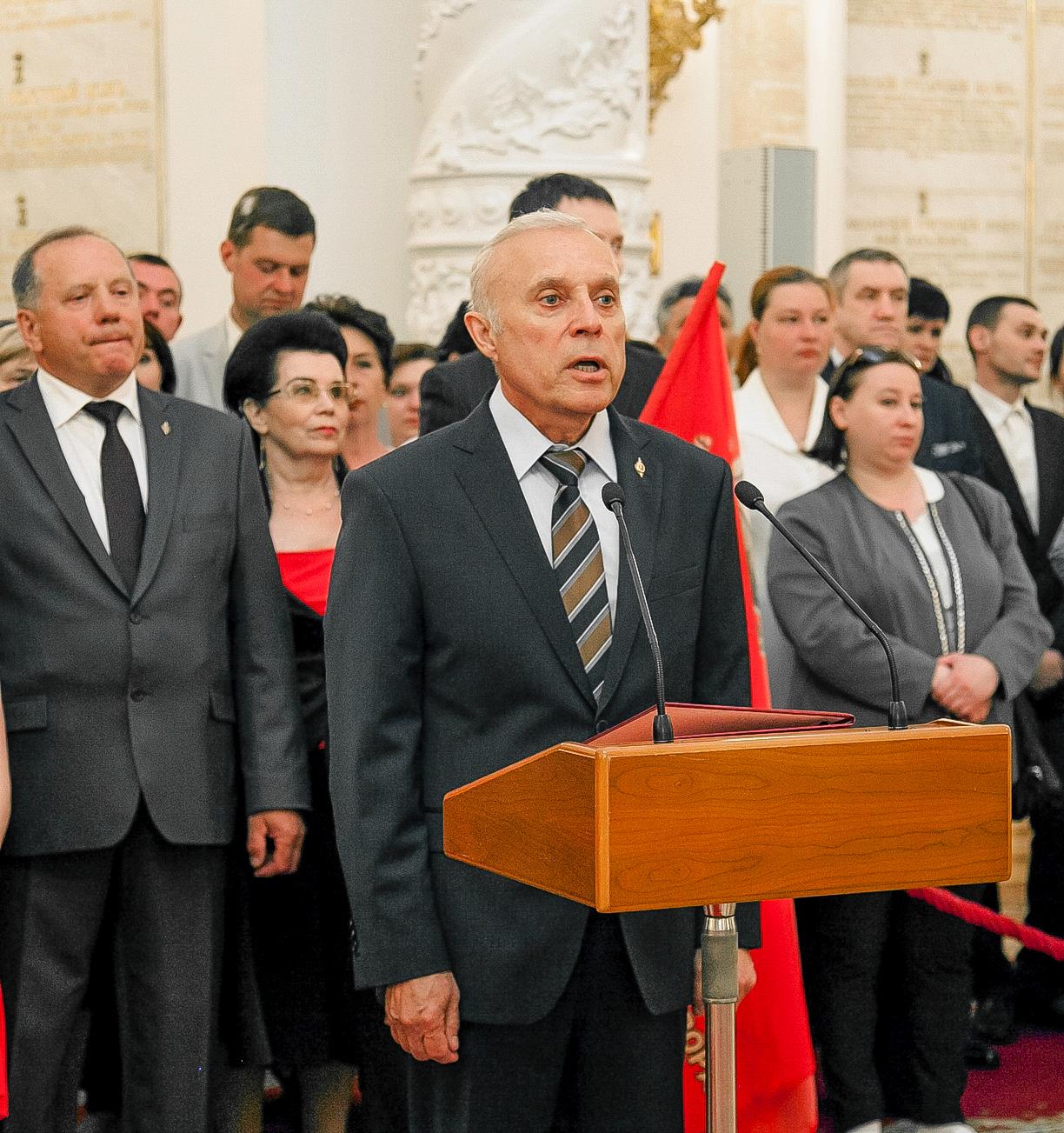 Приветственное слово президента Международной Ассоциации «Альфа», члена Общественной палаты РФ Сергея Гончарова