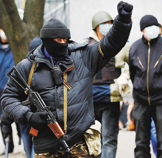 Славянск - один из ярчайших символов сопротивления Новороссии