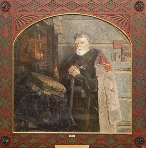 «Ветеран». Картина Павла Рыженко