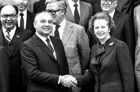 Премьер-министр Великобритании М. Тэтчер в письме президенту США Р. Рейгану: «Я уверена, что с этим человеком можно иметь дело». Февраль 1984 года