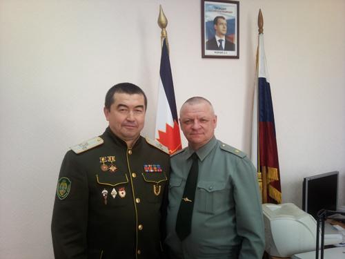 САтаманом Забайкальского Казачьего Войска вмоём кабинете вЧите