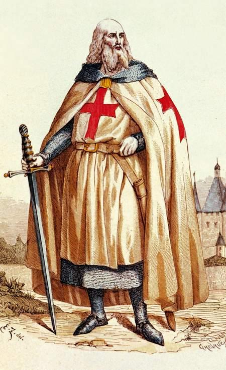 Жак де Моле – двадцать третий и последний Великий магистр Ордена тамплиеров (1294-1314 гг.)